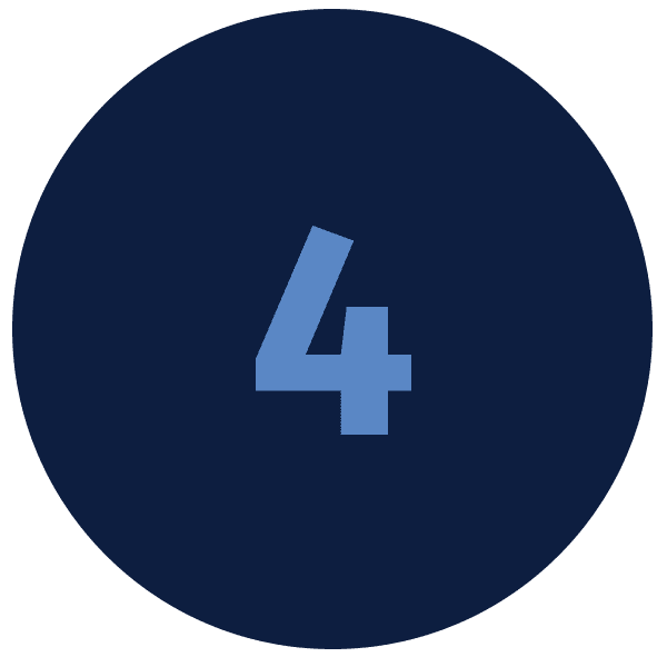 Number 4 in blue circle