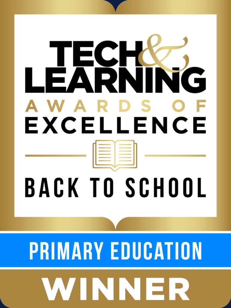 TeacherMade is a Tech & Learning Awards of Excellence Back to School Primary (Elementary) Education Winner