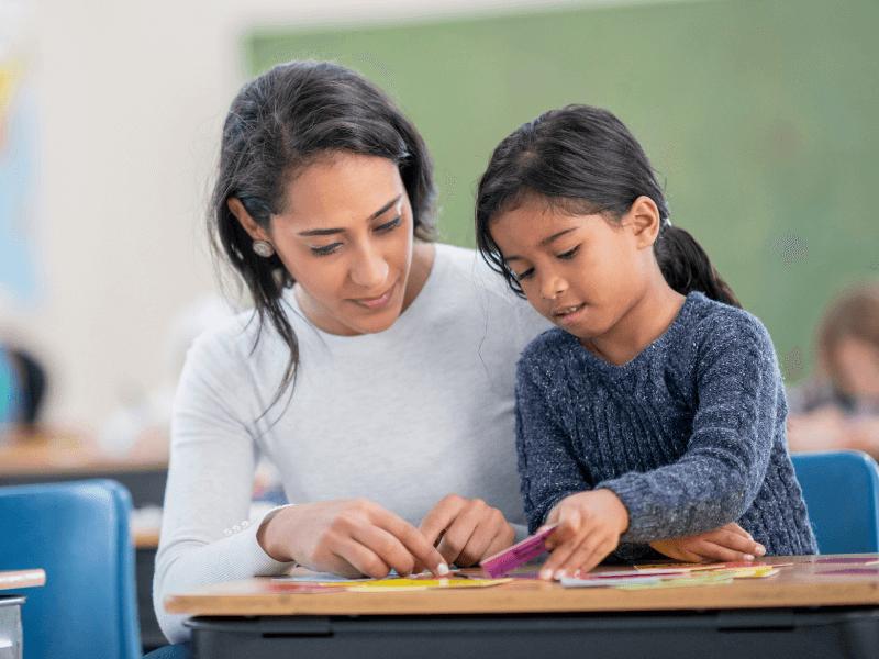 Teacher With Students - TeacherMade - Texas STAAR