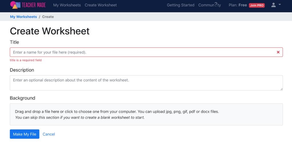 Google Classroom PDF - Step 1