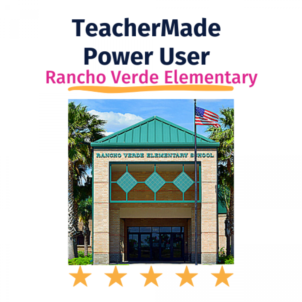 TeacherMade Power User Profile